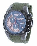 Technosport TS-100-10F1 Men's 42MM Hunter Green Formula 1 Watch