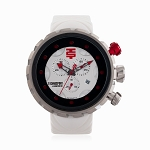 Technosport TS-1100-10 Mens 50mm Sports White Swiss Chronograph Watch
