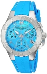 Technomarine TM 115084 Women's 'Cruise' Medusa Quartz Stainless Steel with Blue Silicone