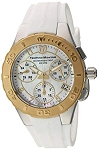 Technomarine TM 115089 Women's 'Cruise' Medusa Quartz Two-Toned White Silicone Casual Watch