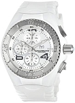 Technomarine TM115102 Women's Jellyfish Quartz Stainless Steel White Silicone Watch