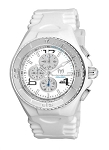 Technomarine TM 115108 Men's Jellyfish Quartz Stainless Steel with White Retro Strap