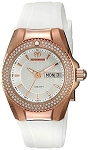 Technomarine TM 115236 Women's 'Cruise' Quartz Rose Gold and Silicone Casual Watch