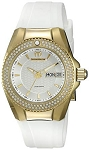 Technomarine TM 115237 Women's Diamond 'Cruise' Quartz Gold-Tone and Silicone Casual Watch