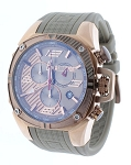 Technosport TS-100-11F1 Mens 42MM Beige & Rose Gold Formula 1 Swiss Watch