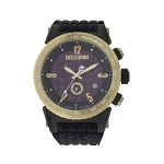Technosport TS-1300-6 Men's 44mm Gold-Tone With Purple Dial Watch