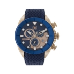 Technosport TS-640-1 Men's Dark Blue & Rose Gold Swiss Watch