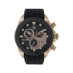 Technosport TS-640-7 Mens Black & Rose Gold Swiss Watch