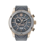 Technosport TS-750-15 Men's 45MM Gray and Rose Gold Swiss Watch