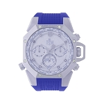 Technosport TS-100-LP4 Women's Lady Pilot Baja Blue Watch With Additional Black Strap