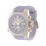 Technosport TS-100-LP5 Women's Lady Pilot Sand Beige Watch With Additional White Strap