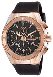 Technomarine TM-115037 Cruise Star Rose Gold & Black Watch