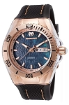 Technomarine TM115214 Unisex Monogram Rose Gold/Mother of Pearl Swiss Watch
