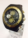 Technomarine TM-115353 Men's NEW Cruise Jellyfish Black with Gold Watch