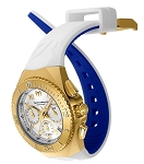 Technomarine TM-215080 Unisex Ocean Manta Collection 40mm Gold Dial Watch