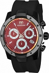 Technomarine TM-615007 Men's UF6 Collection Black & Silver Swiss Watch