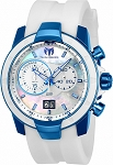 Technomarine TM-615008 Men's UF6 Collection White & Blue Swiss Watch