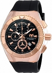 TECHNOMARINE TM-115048  Cruise Star Upgraded Rose Gold/Black Dial
