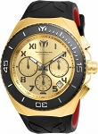 Technomarine TM-215067 Ocean Manta Collection 48mm Gold Dial Watch