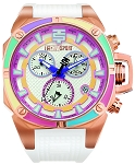 TechnoSport TS-100-S38 Women's Dreamline Rose Gold Swiss Chrono Watch