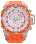 TechnoSport TS-100-39 Unisex 44 mm Swiss Chrono Watch
