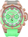 TechnoSport TS-100-3m Women's 40 mm Swiss Chrono Watch