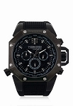 Technosport TS-100-4AV Men's Black 44mm Swiss Watch