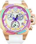 TechnoSport TS-100-S38G Women's Dreamline Gold Swiss Chrono Watch