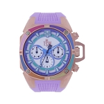 Technosport TS-100-S39 Women's 40mm Pink Swiss Watch With Additonal Lilac Strap
