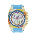 Technosport TS-100-Splash1 Unisex's Swiss Watch With Additional Yellow Strap
